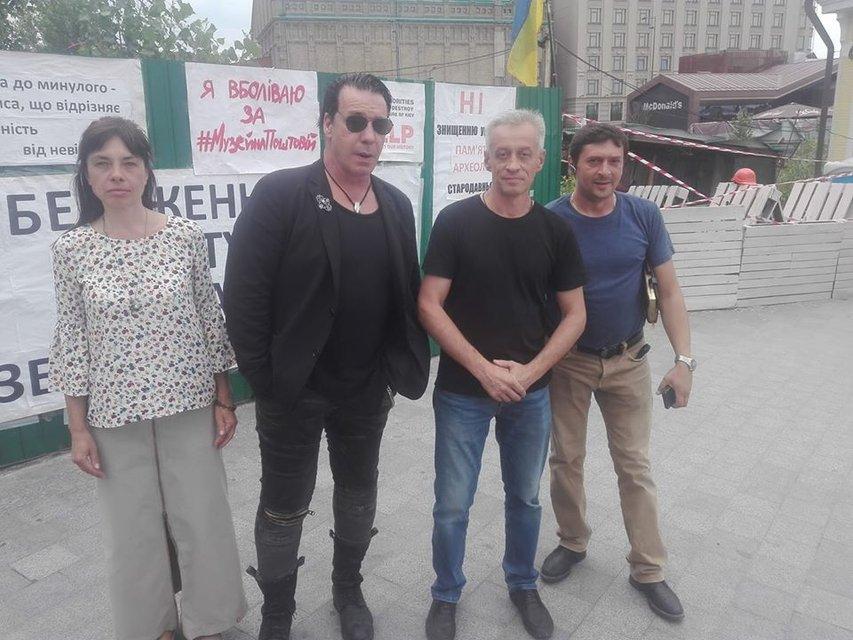 В Киеве заметили лидера Rammstein Тилля Линдеманна - фото 133220