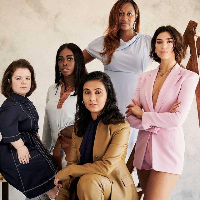 Дуа Липа и Меган Маркл попали в рейтинг самых влиятельных женщин - фото 128398
