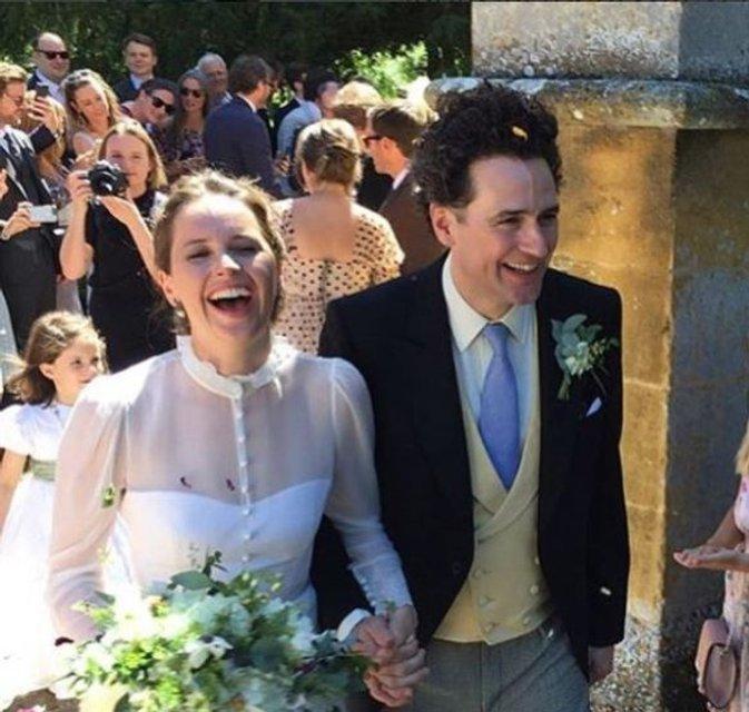 Актриса 'Звездных войн' вышла замуж - фото 133593