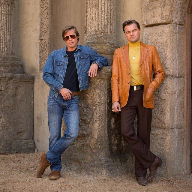 Однажды в Голливуде: Ди Каприо поделился первым фото со съемочной площадки - фото 133626