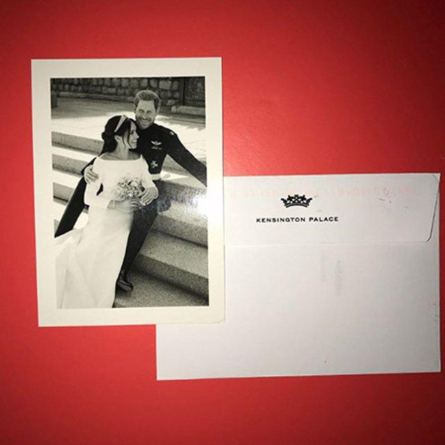 Принц Гарри и Меган Маркл облагодарили всех, кто поздравил их со свадьбой - фото 134872