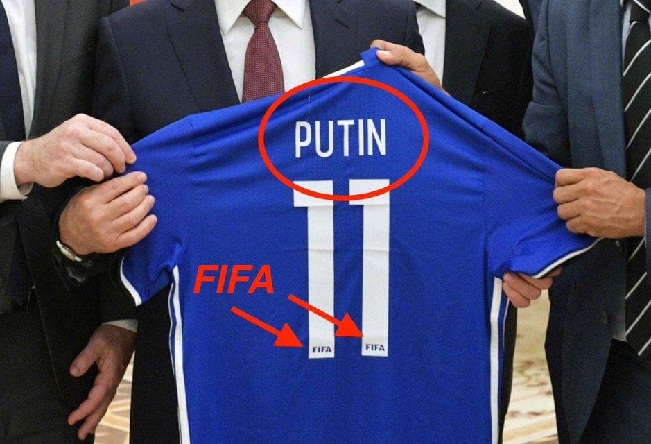 ФИФА уличили в пропаганде коммунизма и поддержке Путина - фото 135045