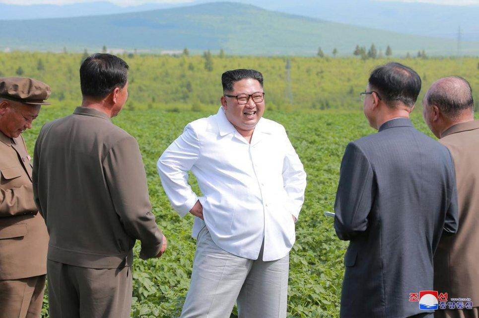 Ким Чен Ын проявил неуважение к госсекретарю США - фото 135247
