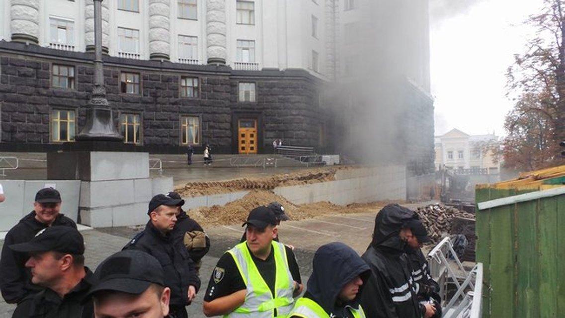 Владельцы 'евроблях' заблокировали центр Киева возле Рады - фото 135259