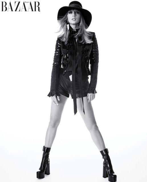 Тейлор Свифт украсила обложку модного журнала - фото 135321