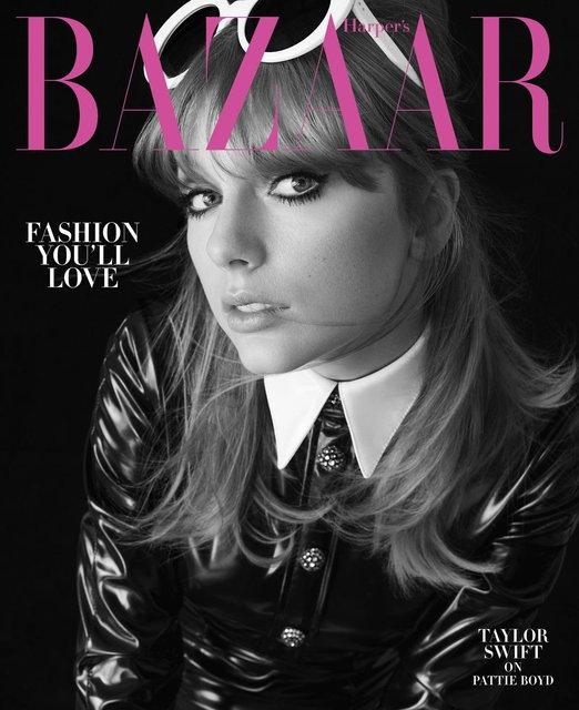 Тейлор Свифт украсила обложку модного журнала - фото 135323