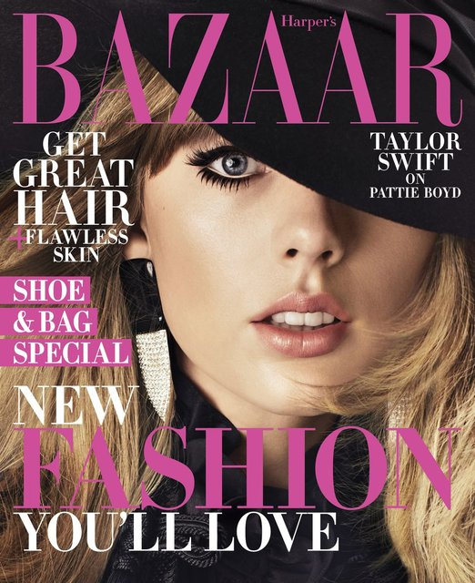 Тейлор Свифт украсила обложку модного журнала - фото 135324