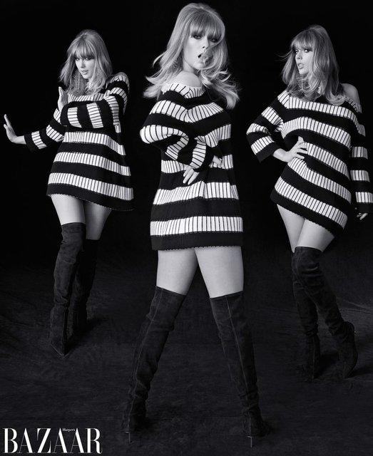 Тейлор Свифт украсила обложку модного журнала - фото 135325