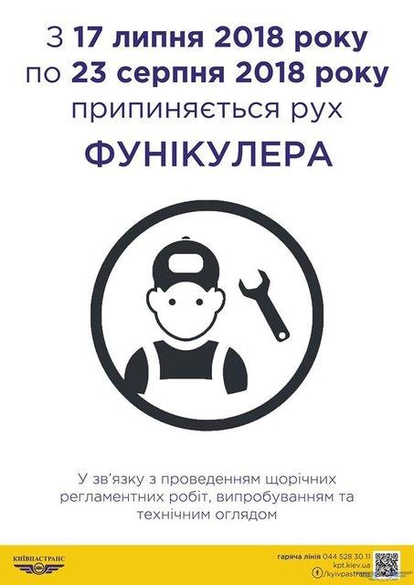 В Киеве закроют фуникулер - фото 136025