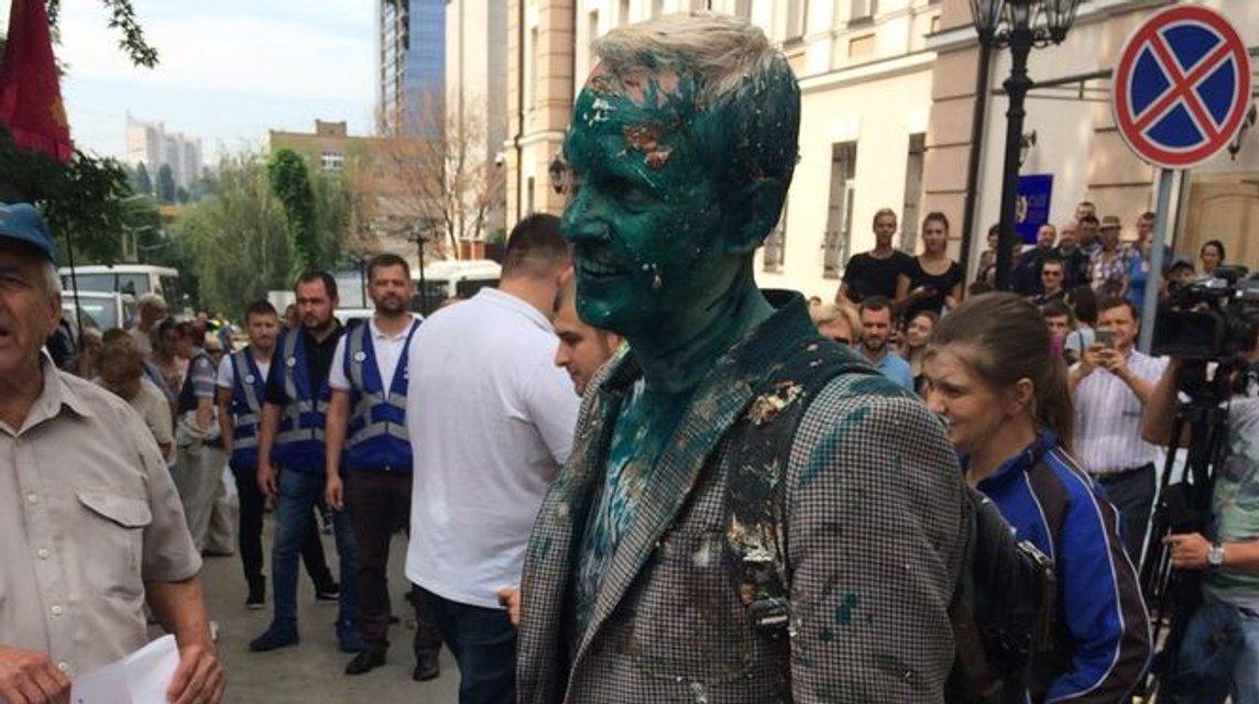 Протесты в Киеве: бабушки Филимоненко против Шабунина, пострадал Кива - фото 136173