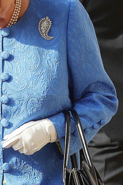 Елизавета II затроллила Дональда Трампа - фото 136343