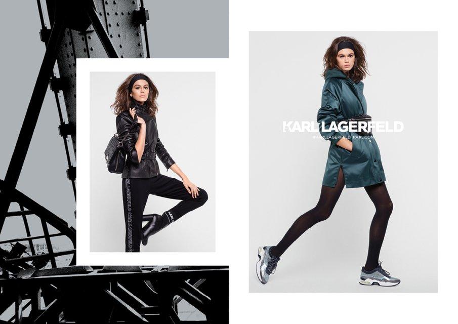 Кайя Гербер стала лицом Karl Lagerfeld - фото 136895