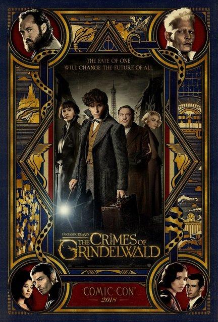 Фантастические твари: Преступления Гриндельвальда - новый трейлер - фото 137113
