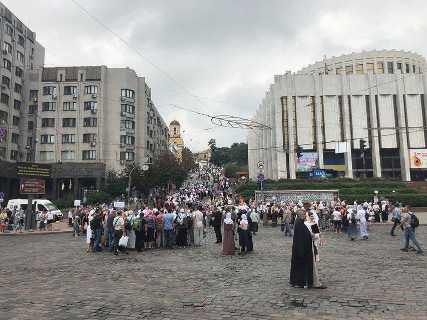 Крещение Руси-Украины: пробки по всему Киеву и проверки на Майдане Независимости - фото 138043