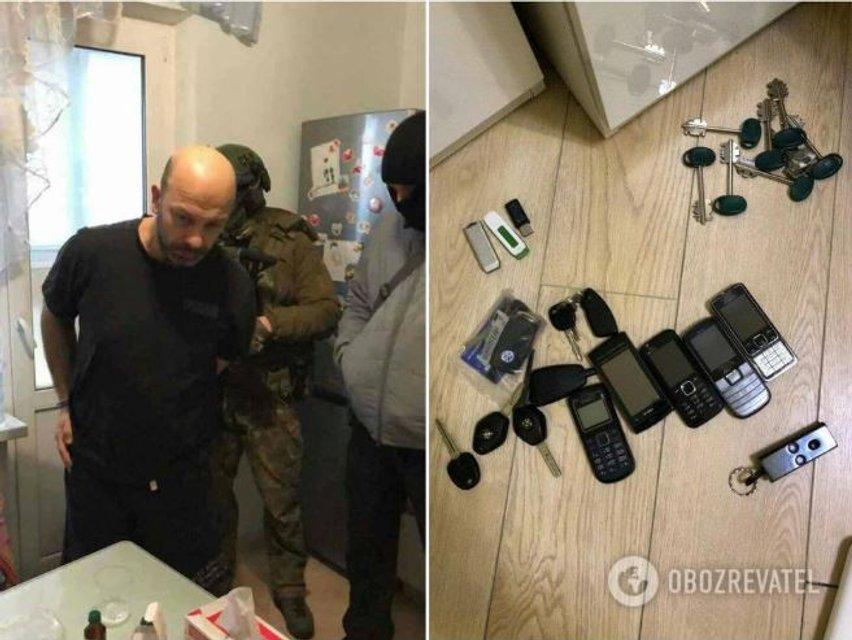 в феврале 2018 года Саша Оболонский был задержан СБУ, но избежал наказания - фото 138221