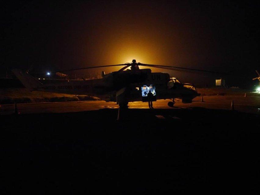 Украинские военные разнесли лагерь боевиков в Конго - фото 139115