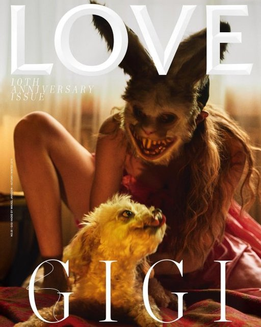 Джиджи Хадид появилась на обложке журнала в ужасающем виде - фото 139271