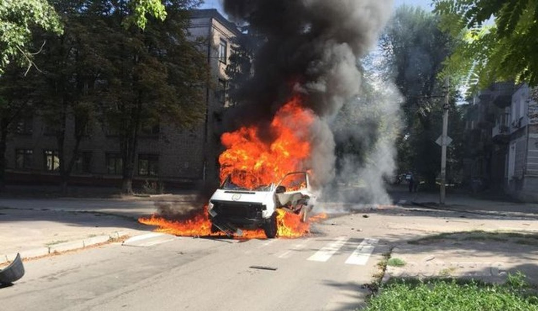 Взрыв авто депутата в Каменском: стали известны новые подробности случившегося (ФОТО 18+) - фото 139314