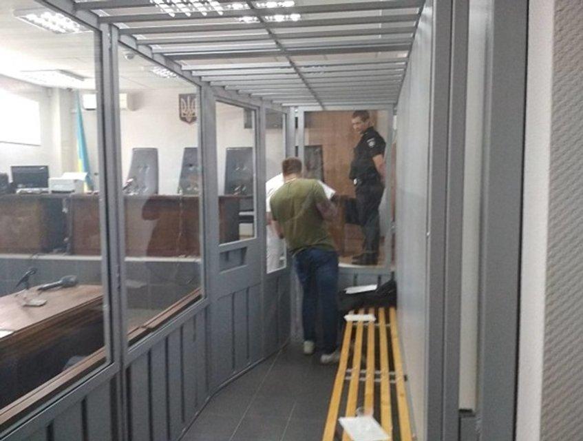 Суд арестовал всех подозреваемых в убийстве Олешко (фото) - фото 139465
