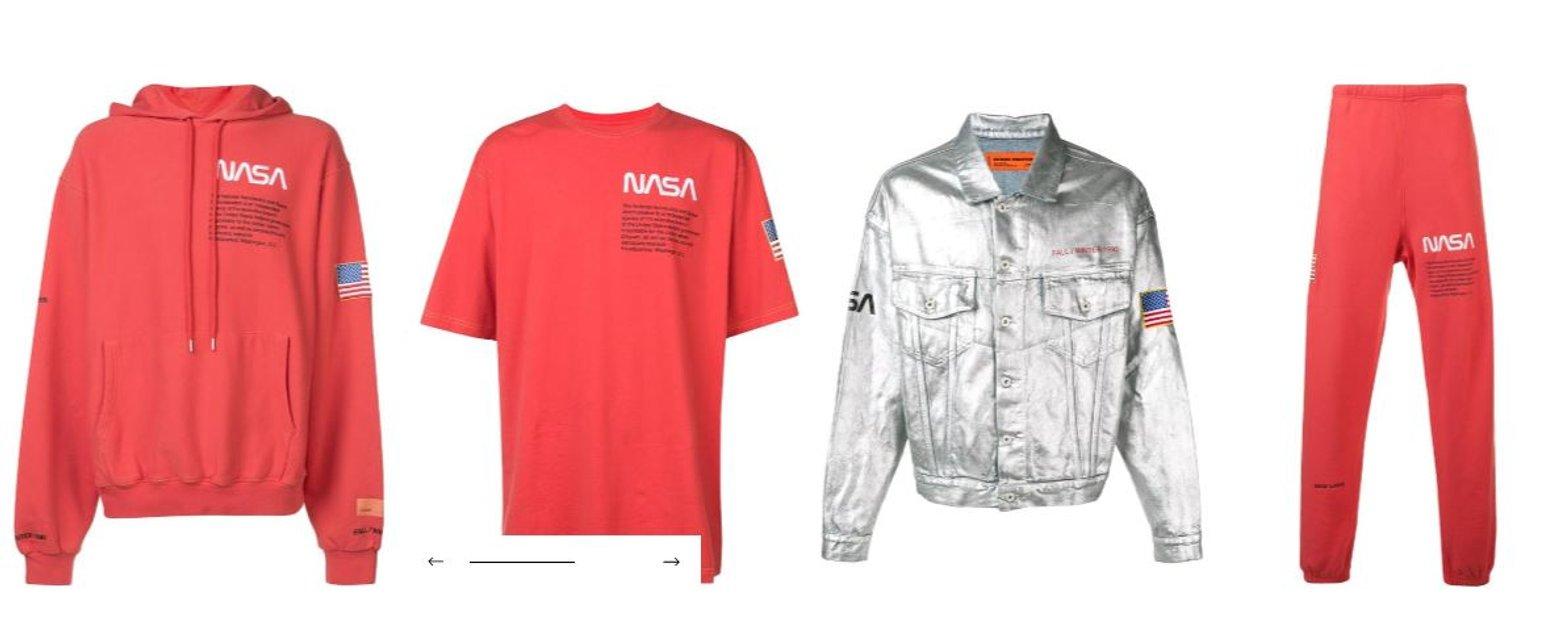Nasa выпустили коллекцию одежды (фото) - фото 139609