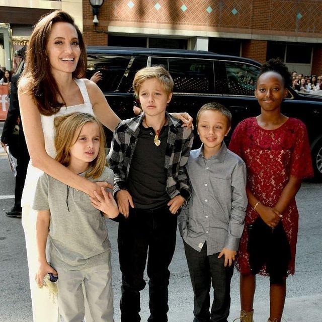 Совсем обнаглела: Брэд Питт подал в суд на Анджелину Джоли - фото 140518