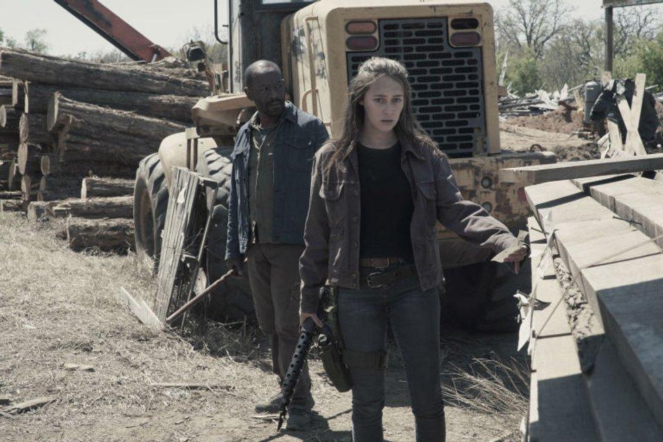 Бойтесь ходячих мертвецов 4 сезон 9 эпизод: Облачно, возможны зомби - фото 141033