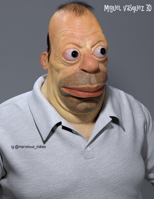 Гомер Симпсон в жизни ужаснул создателя мультсериала Симпсонов - фото 142233