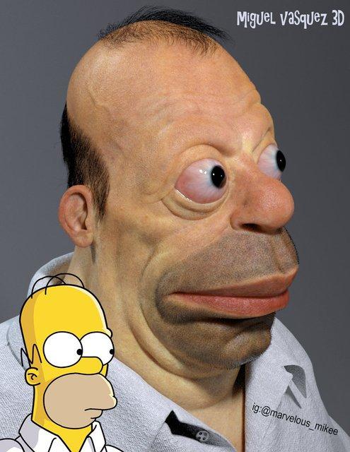 Гомер Симпсон в жизни ужаснул создателя мультсериала Симпсонов - фото 142234