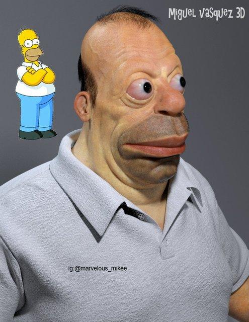 Гомер Симпсон в жизни ужаснул создателя мультсериала Симпсонов - фото 142236