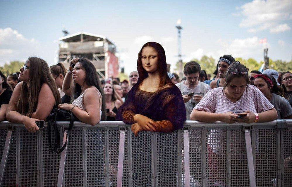 Sziget 2018: Герои картин  Да Винчи, Боттичелли, Микеланджело отдыхают на фестивале - фото 142612