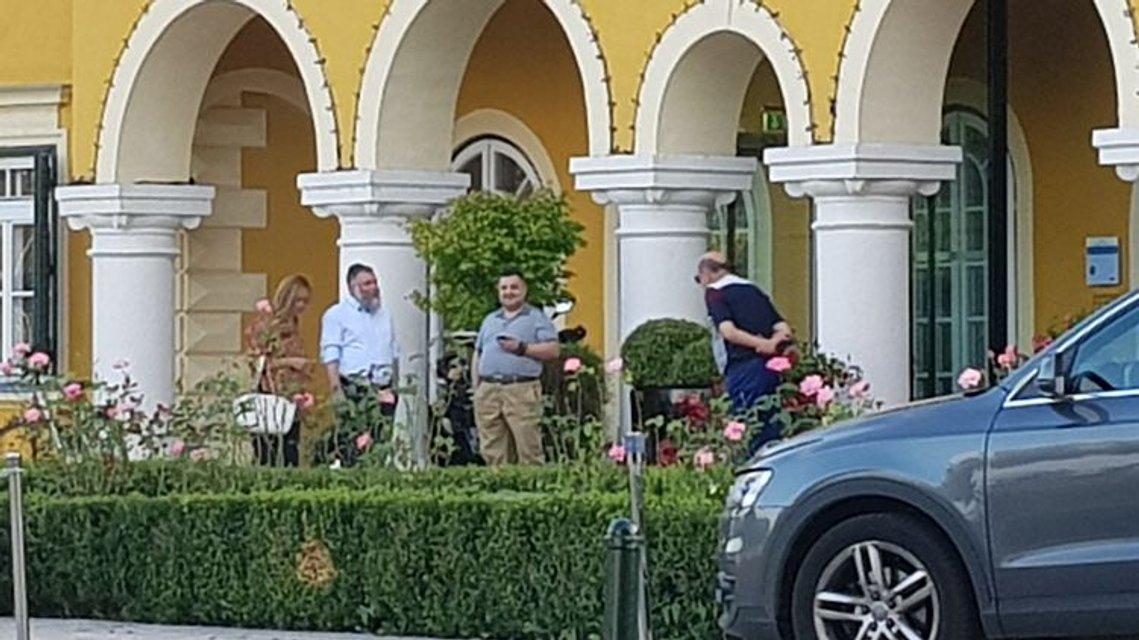 Приближенный к Порошенко нардеп Грановский потусил на австрийском курорте с Рабиновичем - фото 143018