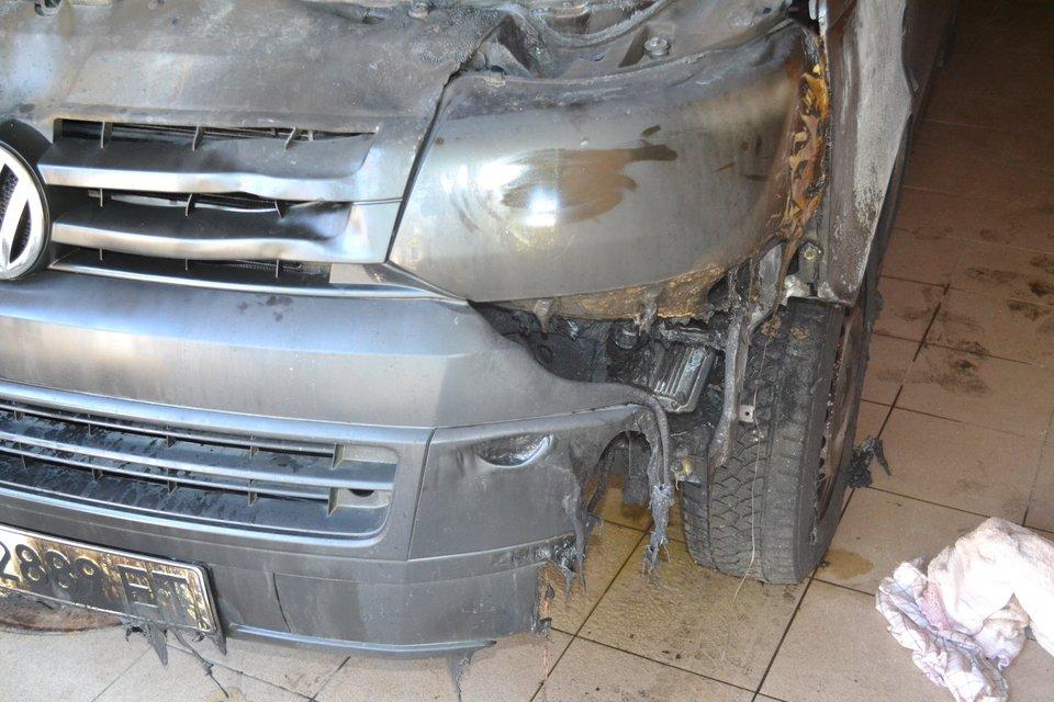 В Харьковской области подожгли авто депутата райсовета (фото) - фото 143403
