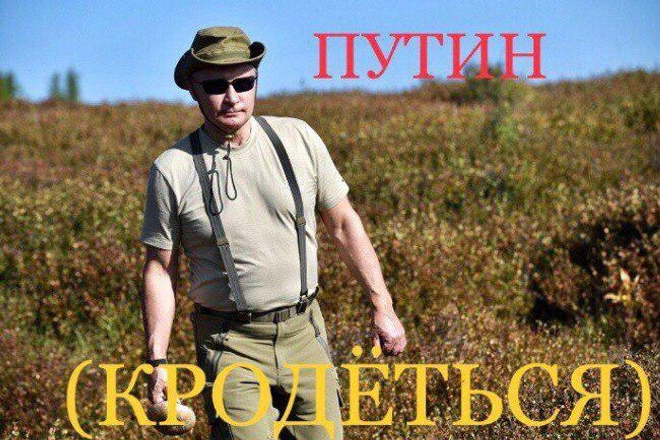 'Горбатая гора': дикая фотосессия Путина с Шойгу в народном творчестве (ФОТО) - фото 143532