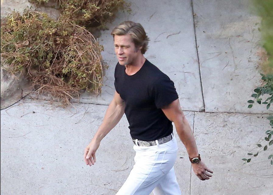 Однажды в Голливуде: Брэд Питт помолодел без Анджелины Джоли - фото 144391
