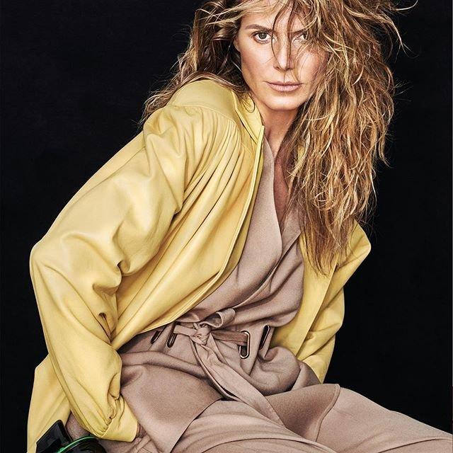 Хайди Клум снялась в стильных образах для украинского L'Officiel - фото 144788
