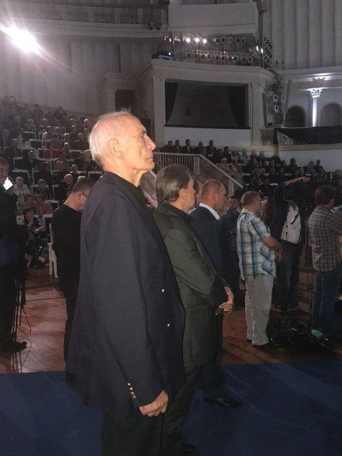 Путин и Медведев приехали на похороны Кобзона (ФОТО) - фото 144878