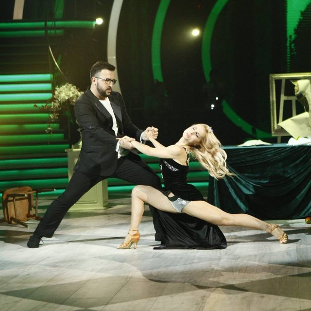 Танці з зірками 2018 3 выпуск: Руслан Сеничкин и Яна Цибульская - фото 146409