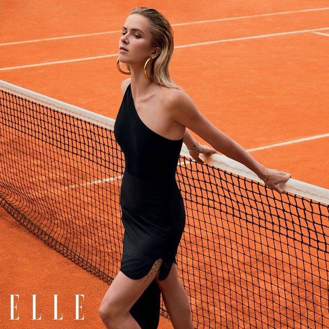 Звезда украинского тенниса Элина Свитолина снялась в фотосессии для Elle - фото 146817