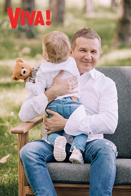 Юрий Горбунов с маленьким сыном снялся в стильной фотосессии - фото 147159