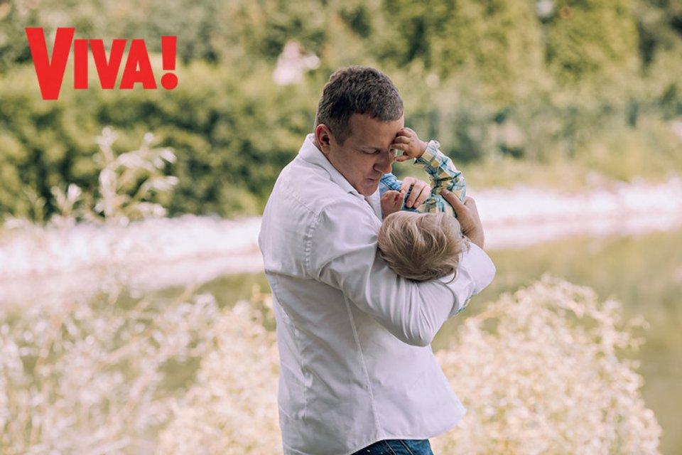 Юрий Горбунов с маленьким сыном снялся в стильной фотосессии - фото 147161
