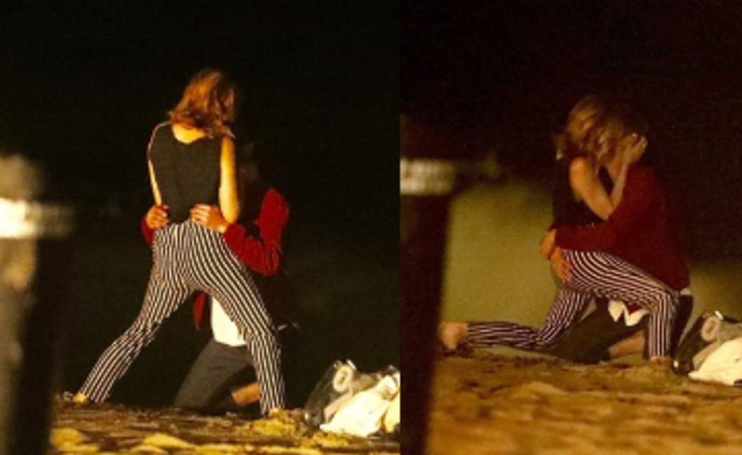 50 оттенков серого: экс-бойфренд Эммы Стоун повеселился с новой девушкой - фото 147189