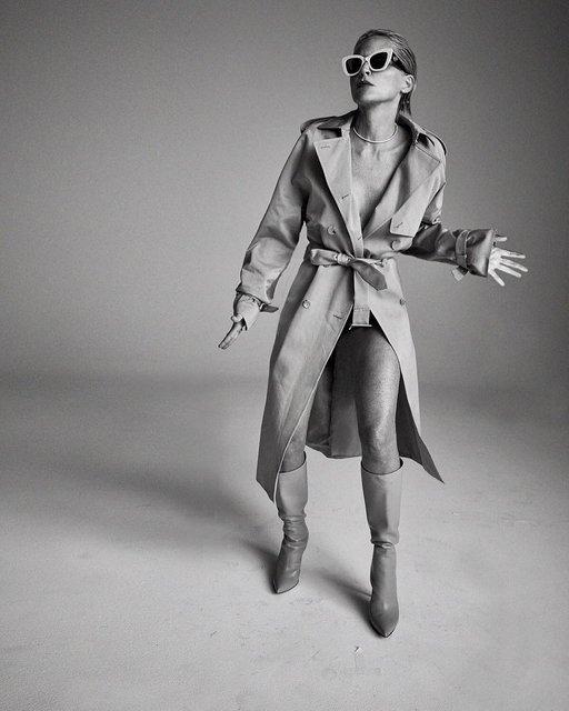 Сексуальная Шэрон Стоун воплотила в новой съемке образ героини 'Основного инстинкта' - фото 147617