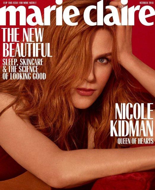 Николь Кидман в прозрачном платье восхитила новой фотосессией - фото 148008