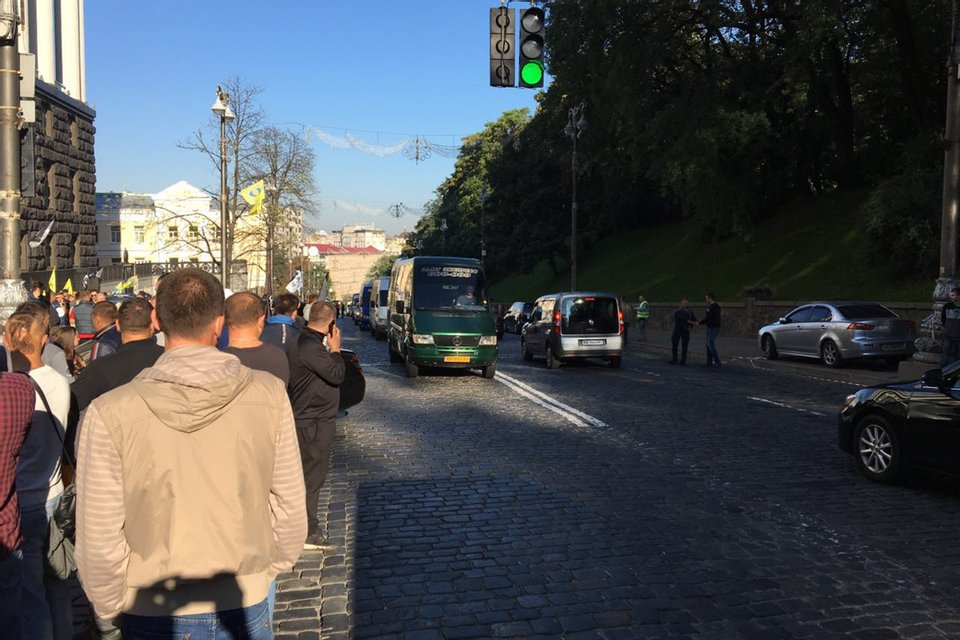 Активисты начали собираться около 07:00 - фото 148428