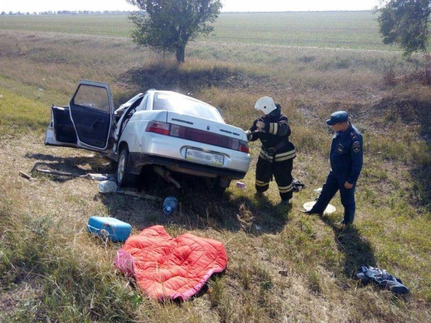 В Крыму в жестком ДТП погибли пять человек - фото 149533