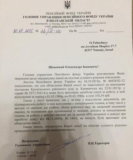 Чиновники пенсионного фонда послали суд и кинули пенсионера на полмиллиона (ФОТО) - фото 150025