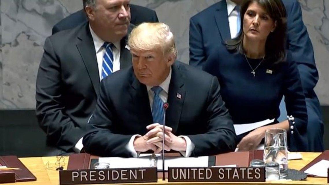 Театр у микрофона: Почему речь Трампа в ООН удивила мир, но не Америку - фото 150177