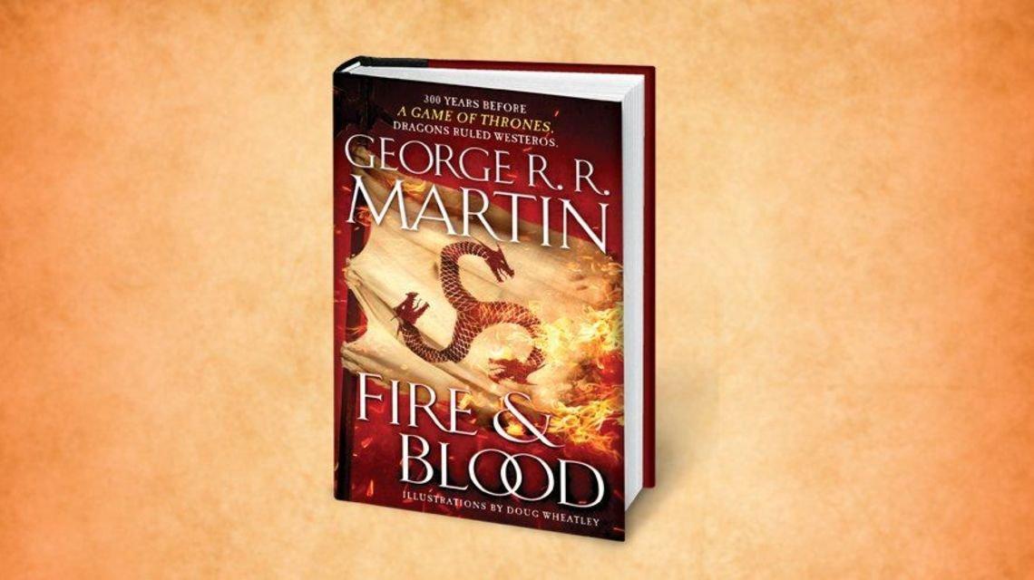 Пламя и кровь: Джордж Мартин выпускает новую книгу об Вестеросе - фото 150447