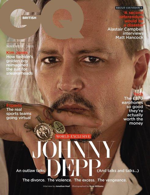 Джонни Депп впервые рассказал о избиении Эмбер Херд - фото 151292