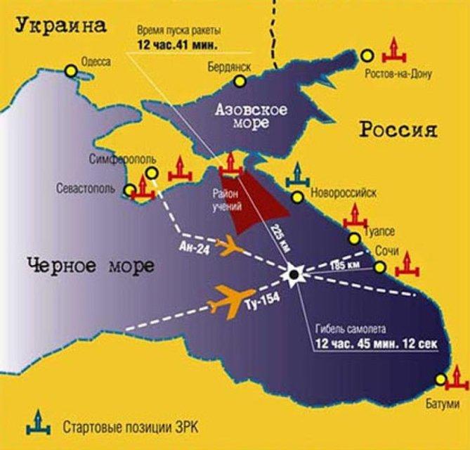 Мертвые молчат: Как Украину подставили в истории с катастрофой Ту-154 над Черным морем - фото 151504